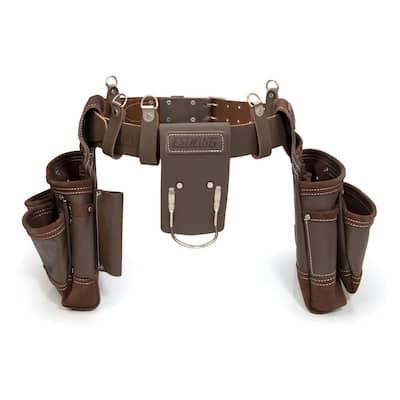 14-Pocket Leather Framer's Tool Rig