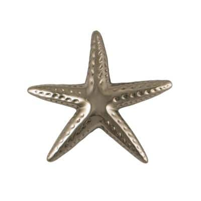 Nickel Silver Starfish Door Knocker