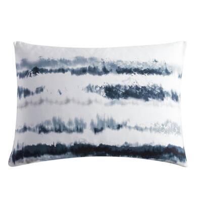 Obscura 1-Piece Blue Cotton Standard Sham