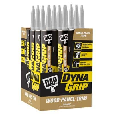 DYNAGRIP 10.3 oz. Wood-Panel-Trim Construction Adhesive (12-Pack)