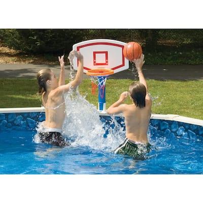 Jammin' Aboveground Pool Basketball Game