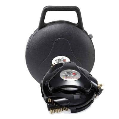 Automatic Grill Cleaning Robot with Carry Case, Black