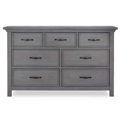Belmar 7-Drawer Rustic Grey Dresser