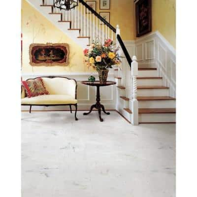 Greecian White 12 in. x 12 in. Honed Marble Floor and Wall Tile (5 sq. ft./case)