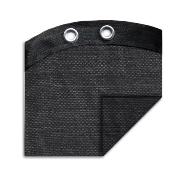 Robelle Mesh 18 Ft X 33 Ft Oval Black Mesh Above Ground Winter Pool Cover 381833 The Home Depot