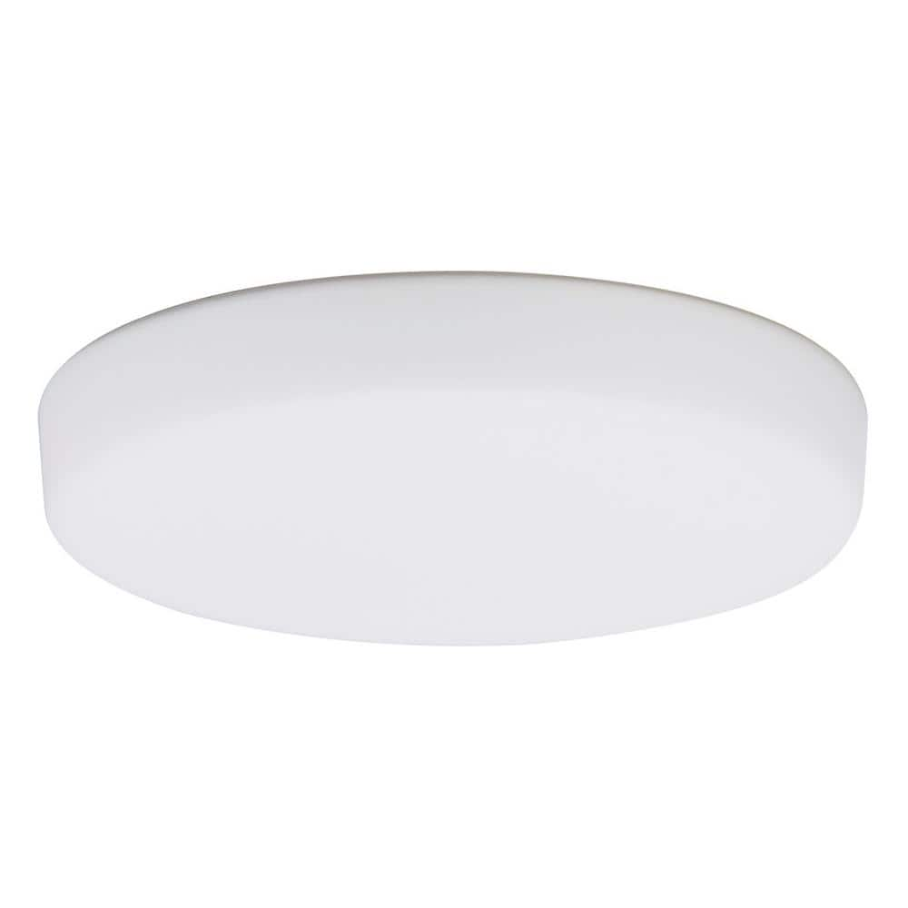 Emerson 1 Light Opal Matte Ceiling Fan Integrated Led Light Fixture 5 75 In X 1 In Lk354 The Home Depot