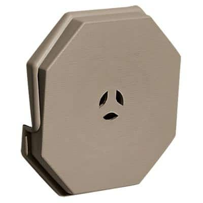 6.625 in. x 6.625 in. #095 Clay Surface Universal Mounting Block