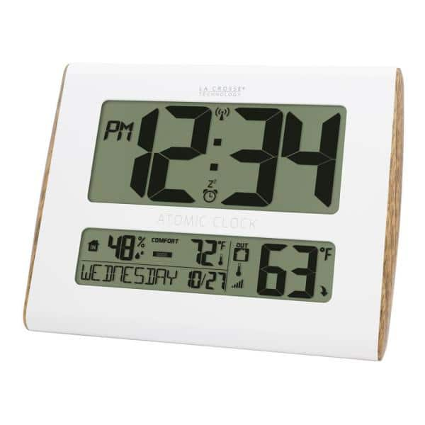 La Crosse Technology Digital Atomic, Best Atomic Clock With Indoor Outdoor Temperature