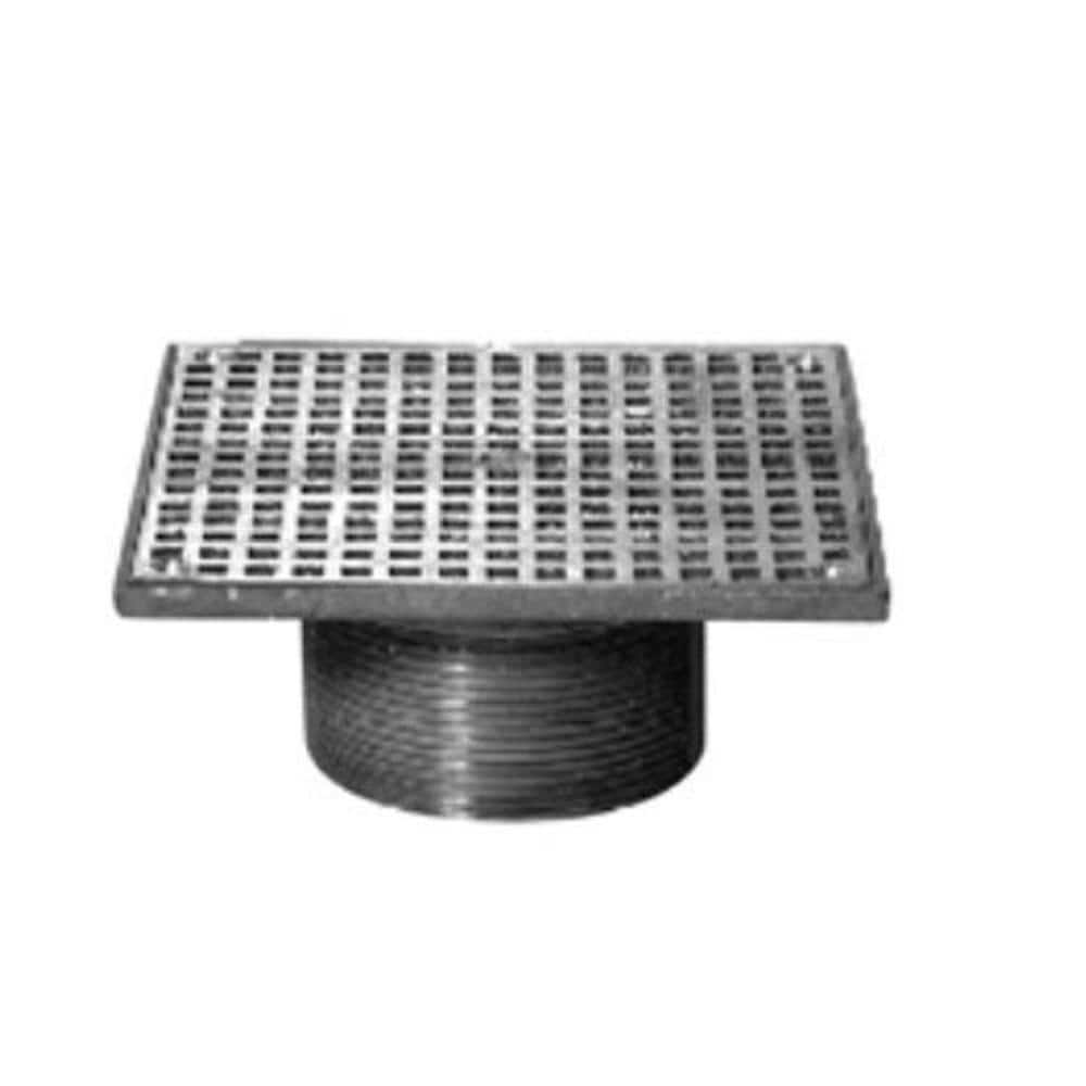 Zurn 9 in. Floor Drain Strainer Polished Nickle Bronze ZN9 9S   The Home  Depot