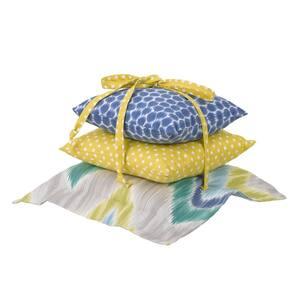 Zebra Romp Cotton Pillow Pack (Set of 3)