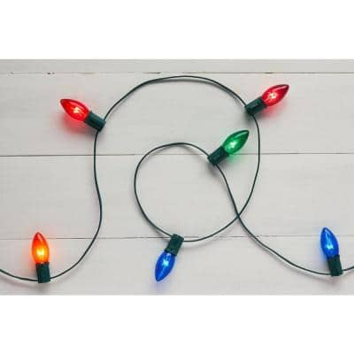 25-Light Multi-Incandescent C9 Lights (Set of 2)