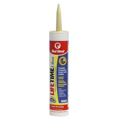 Ultra 10.1 oz. Almond Acrylic Latex Caulk