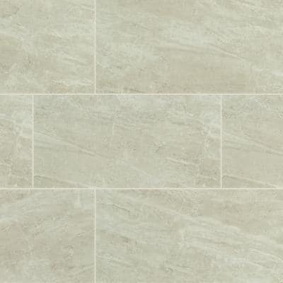 Sable Gray 12 in. x 24 in. Polished Porcelain Floor and Wall Tile (16 sq. ft./Case)