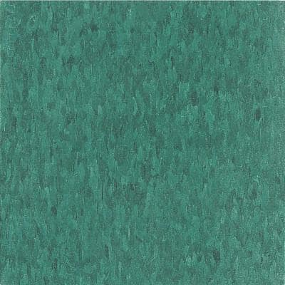 Imperial Texture VCT 12 in. x 12 in. Sea Green Standard Excelon Commercial Vinyl Tile (45 sq. ft. / case)