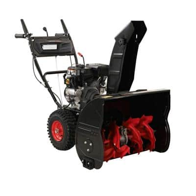 26 in. Two-Stage Gas Snow Blower with Electric Start