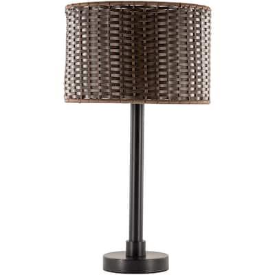 Mccray 27.75 in. Black Indoor/Outdoor Table Lamp