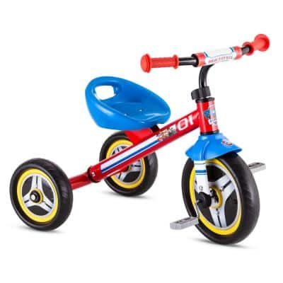 10 in. Trike Ages: 2-Years to 4-Years in Red