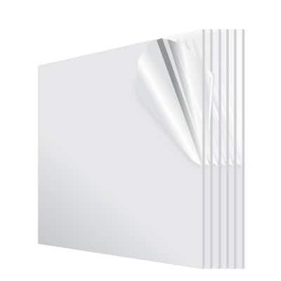 12 in. x 24 in. x 1/8 in. Plexiglass Acrylic Sheet (6-Pack)