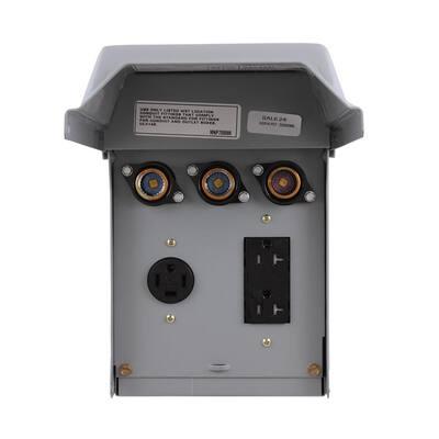 40 Amp 240-Volt Fused Evaporative Cooler Disconnect