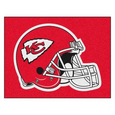 NFL - Kansas City Chiefs Helmet Rug - 34 in. x 42.5 in.