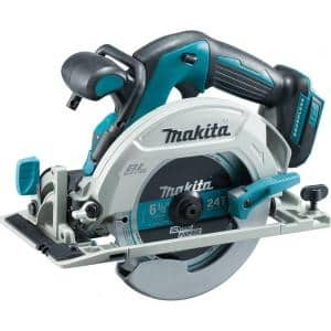 18-Volt LXT Lithium-Ion Brushless Cordless 6-1/2 in. Circular Saw with Electric Brake and 24T Carbide Blade (Tool-Only)