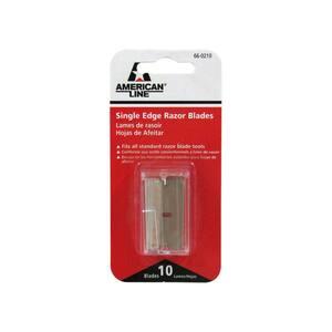 Single Edge Razor Blades (10-Pack)