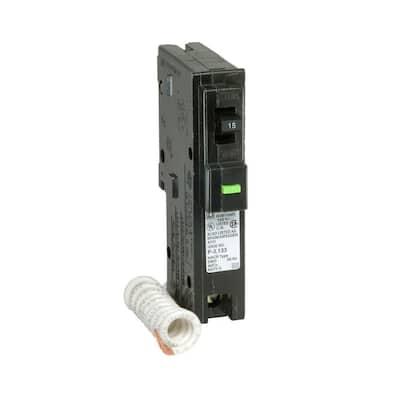 Homeline 15 Amp Single-Pole AFCI Circuit Breaker