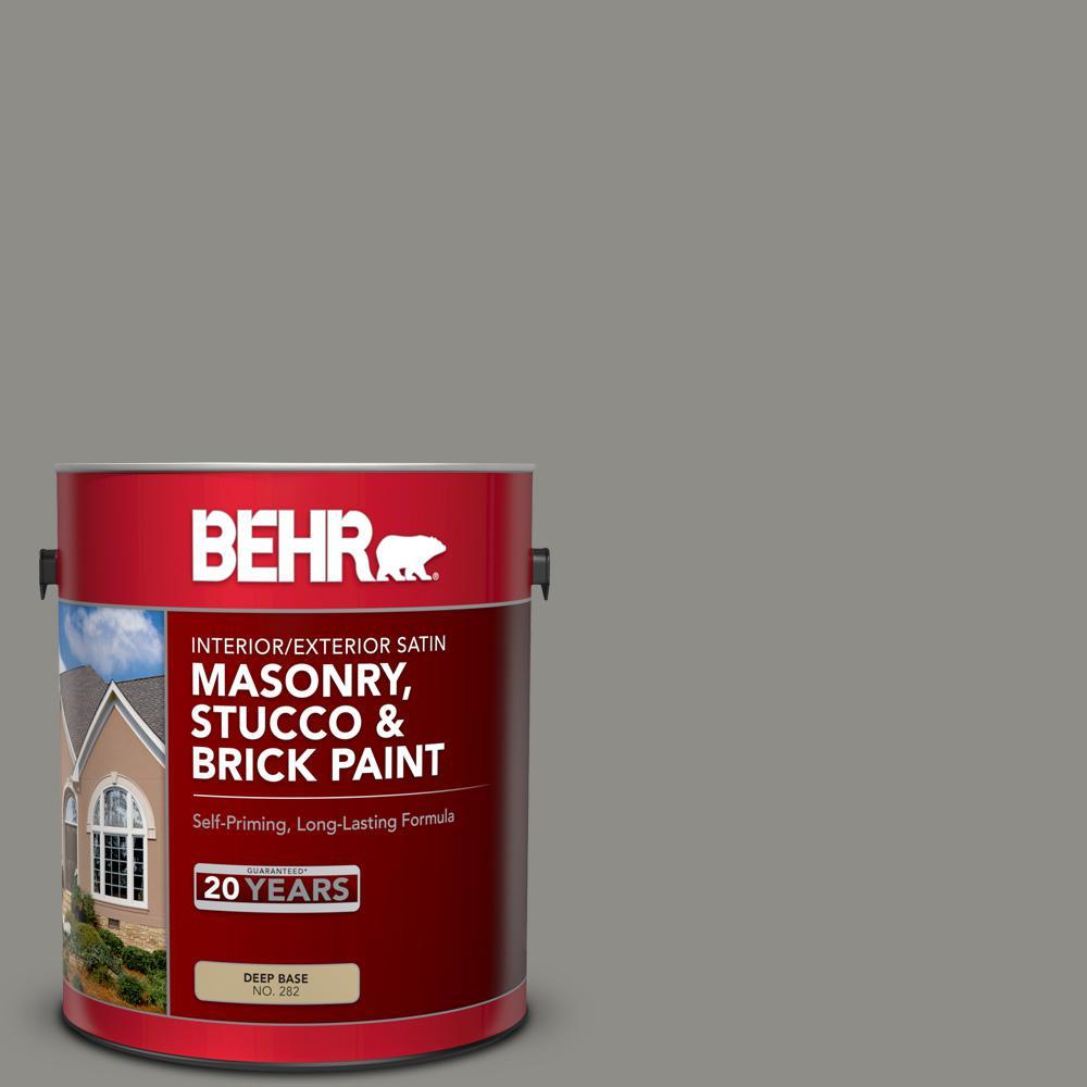 1 gal. #PFC-69 Fresh Cement Satin Interior/Exterior Masonry, Stucco and Brick Paint