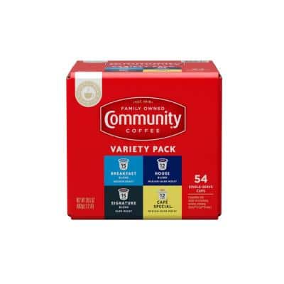 Variety Pack Premium Single Serve Cups (54-Count)