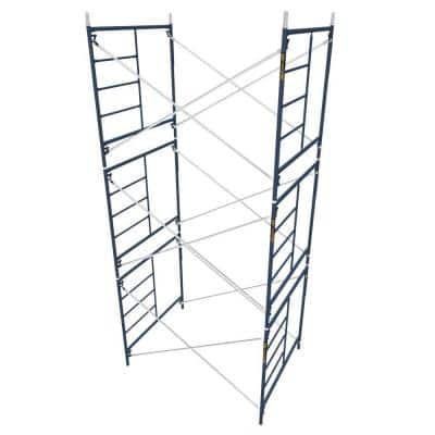 Saferstack 5 ft. x 7 ft. x 5 ft. Mason Scaffold (Set of 3)