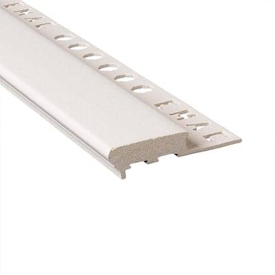 Novopeldano Maxi Sand 3/8 in. x 98-1/2 in. Composite Tile Edging Trim