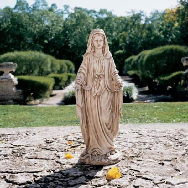 Design Toscano 43 In H Madonna Blessed, Blessed Virgin Mary Outdoor Statues