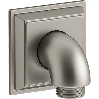 Memoirs Wall-Mount Supply Elbow with Check Valve, Vibrant Brushed Nickel