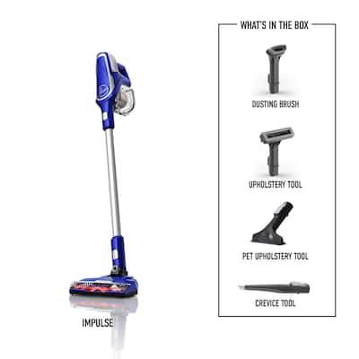 Impulse Lightweight Pet Cordless Stick Vacuum Cleaner Machine with Removeable Handheld Vacuum