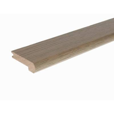 Solid Hardwood Reuben 0.27 in. T x 2.78 in. W x 78 in. L Stair Nose