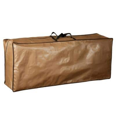 79 in. L x 30 in. W x 24 in. H Waterproof Outdoor Cushion Cover and Protective Zippered Storage Bags