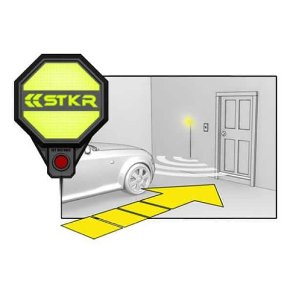 Stkr Ultra Sonic Garage Parking Sensor, Garage Stop Light Home Depot