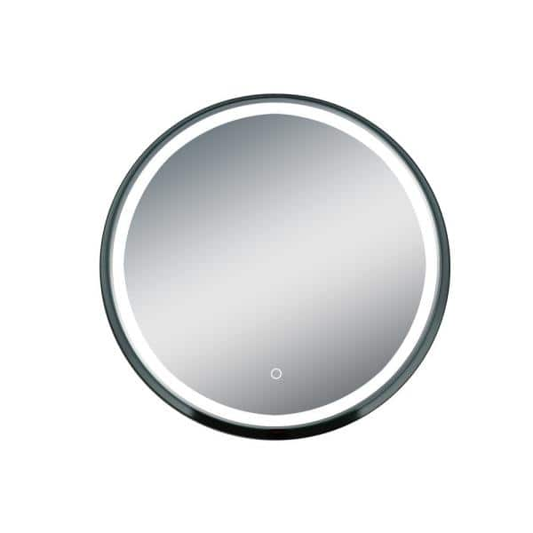 Ltl Home Products Carlton 32 In W X, Home Depot Bathroom Mirror Led