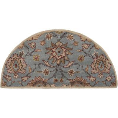 Cambrai Moss 2 ft. x 4 ft. Hearth Indoor Area Rug