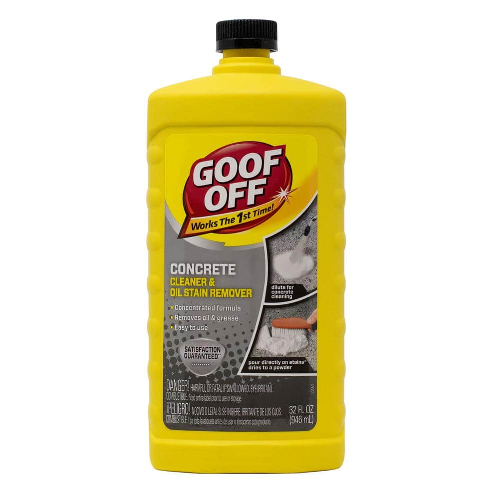 Goof Off 32 Oz Concrete Cleaner And