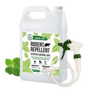 Gallon (128 oz.) Rodent Natural Peppermint Oil Spray - Non Toxic