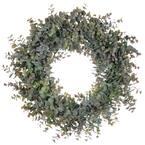 20 in. Artificial Eucalyptus Wreath