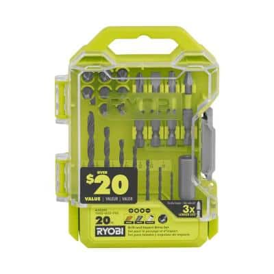 Drill and Impact Drive Kit (20-Piece)