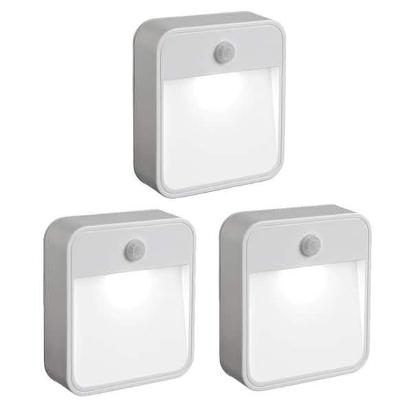 3 Pack Motion Sensor /& Light sensor Closet LED Light
