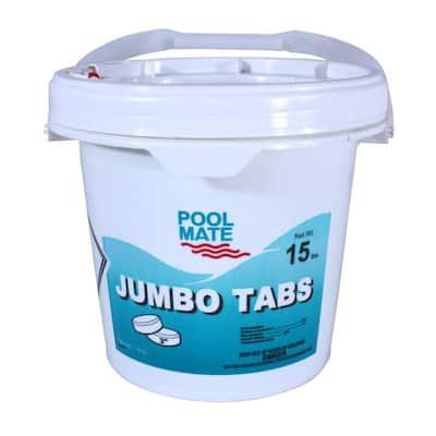 15 lb. Pool 3 in. Chlorine Jumbo Tabs