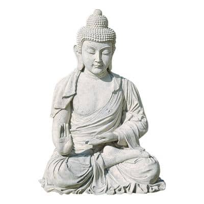 48 in. H Meditative Buddha of the Grand Temple Giant Garden Statue