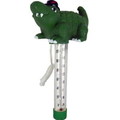 Cool Gator Floating Swimming Pool and Spa Thermometer