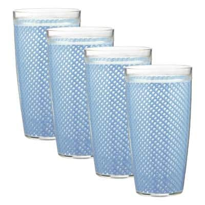 Fishnet 22 oz. Serenity Insulated Drinkware (Set of 4)