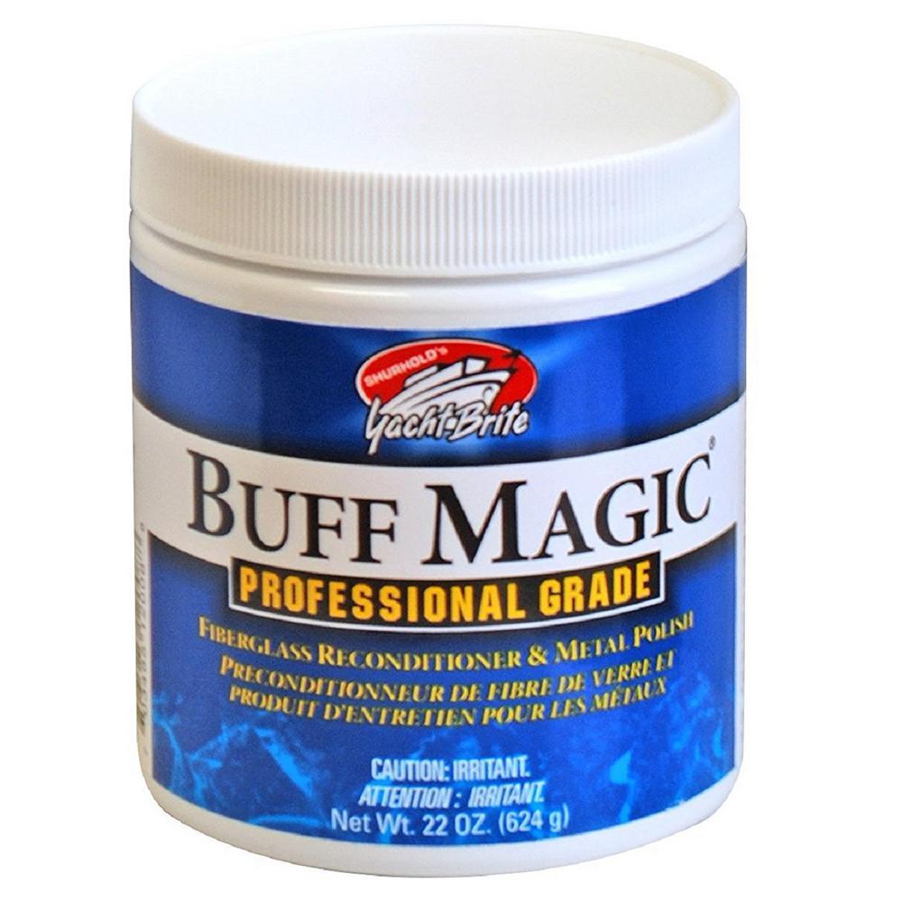 22 oz. Buff Magic Can