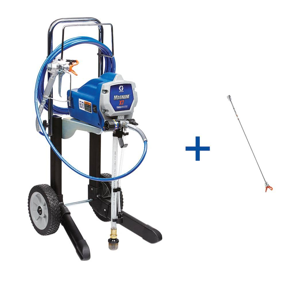 Graco X7 Airless Paint Sprayer with 20 in. Tip Extension